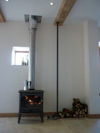 Stove installers  twin wall installation  Singletrack ...