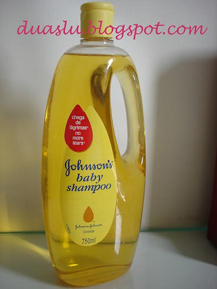 Usos do Shampoo Johnson