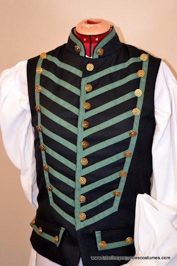 Gilet style militaire