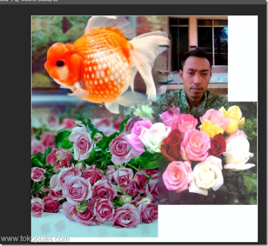 efek blending di foto dengan mudah