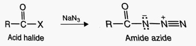 curtius rearrangement,Preparation of amines