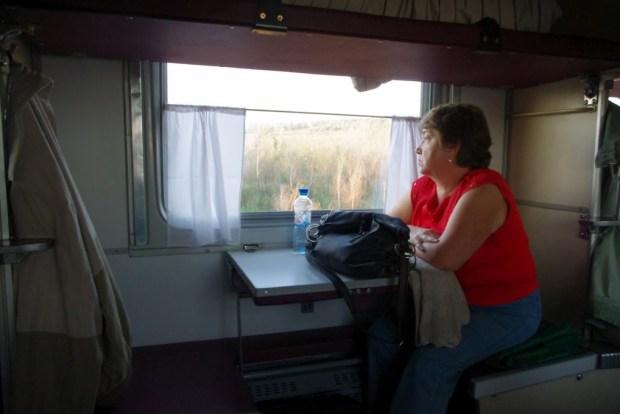 Kazán. Tren en Rusia