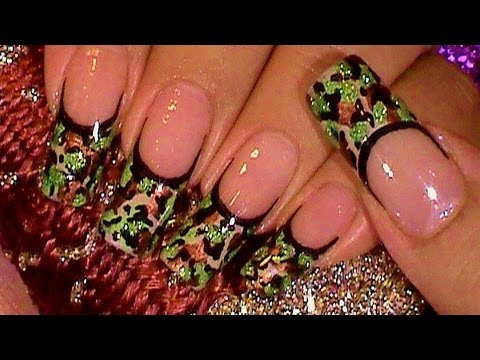 THE BEST CAMOUFLAGE NAIL DESIGNS FOR PRETTY WOMEN 5