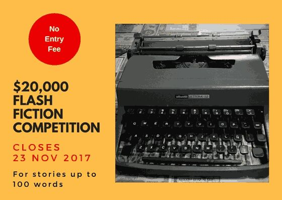 Win 20000 in 100 word story competition