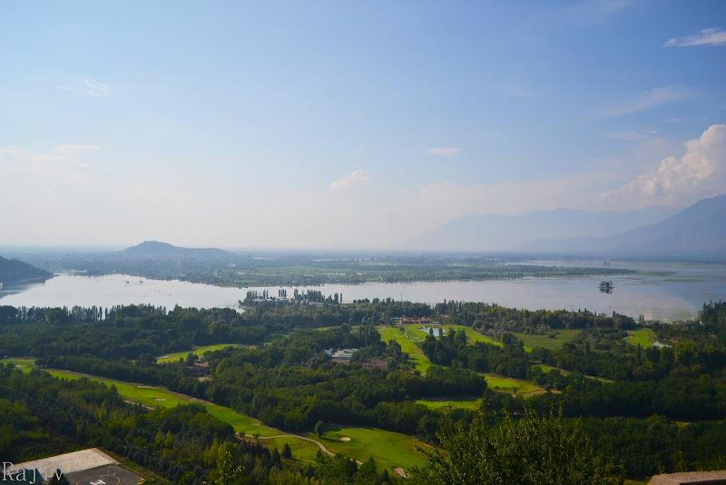 Dal lake from Pari Mahal