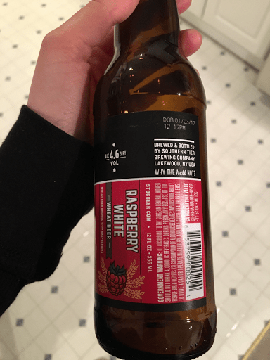 Southern Tier Raspberry White Wheat Beer