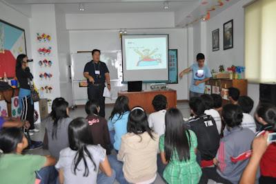 Day 1 - Explaining of House Rules; Mr. Leo Bartolome, Liliane Foundation Philippines
