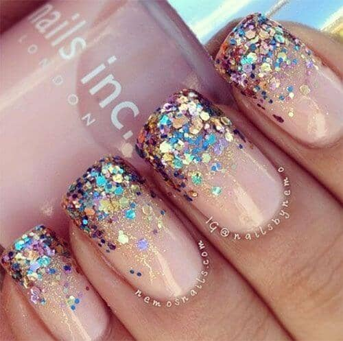 22 New Years Eve Nails That Will Outshine The Ball 2019 Style2 T