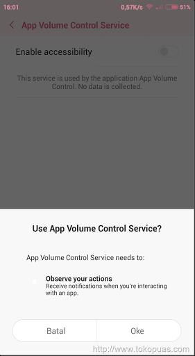 trik setting volume smartphone android