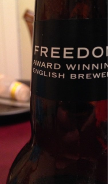 Four Lager by Freedom Brewery