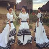 south african traditional wedding dress 2017
