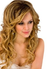 lovely hairstyles curly hair