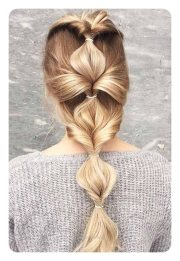 boho hairstyles curly and straight