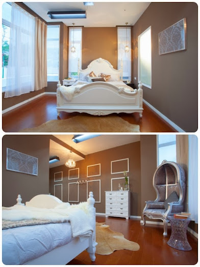 Master bedroom design by  Yvette and Sonia