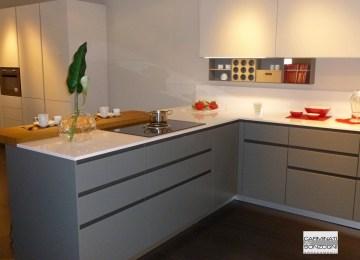 Cucina In Linea | Cucina Arclinea Artusi Legno Sottocosto Cucine A ...