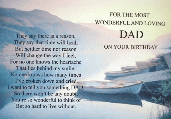 birthday of a dead loved one