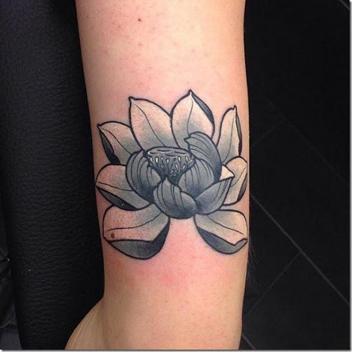 Tatuajes De Flor De Loto Hermosas E Inspiradoras Tatuajes247