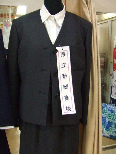 静岡県立静岡高等学校の女子の制服
