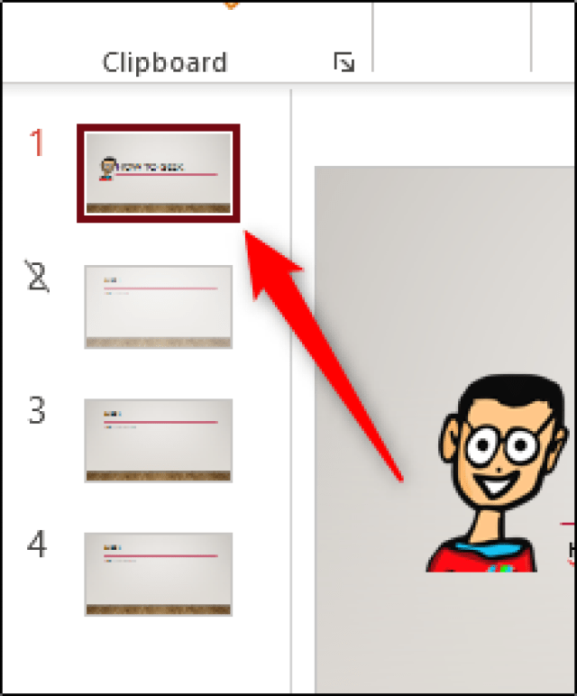 how to link or embed powerpoint slide in Microsoft word