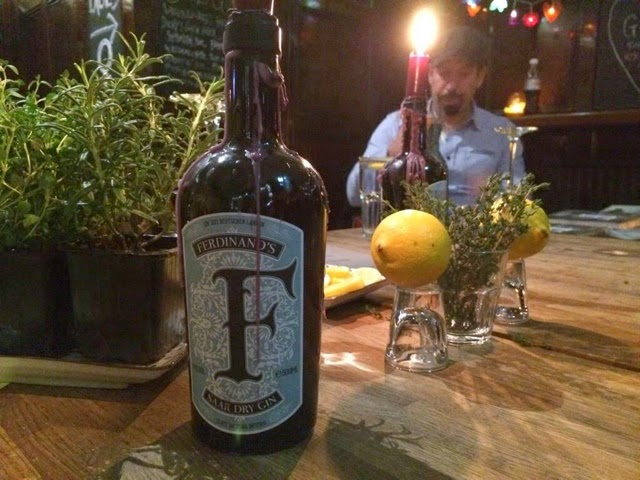 Ferdinand's Gin bottle