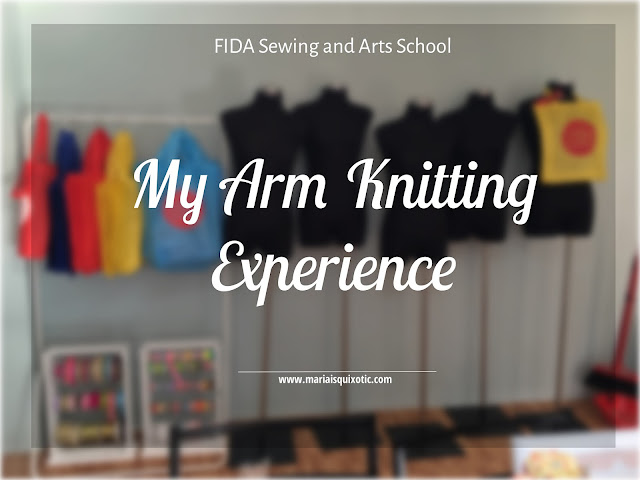 Arm Knitting at FIDA