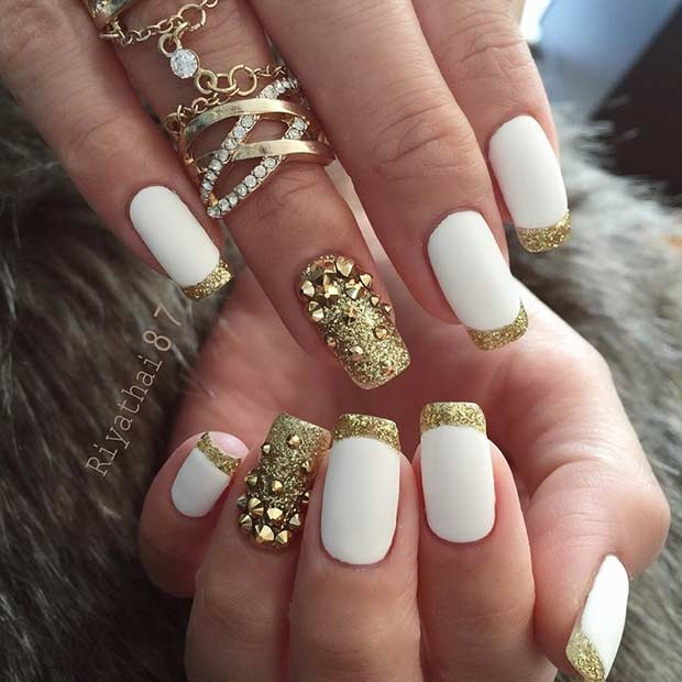 New Year\'s Eve Nail Designs 2017 New Nail Art - Styles 2d