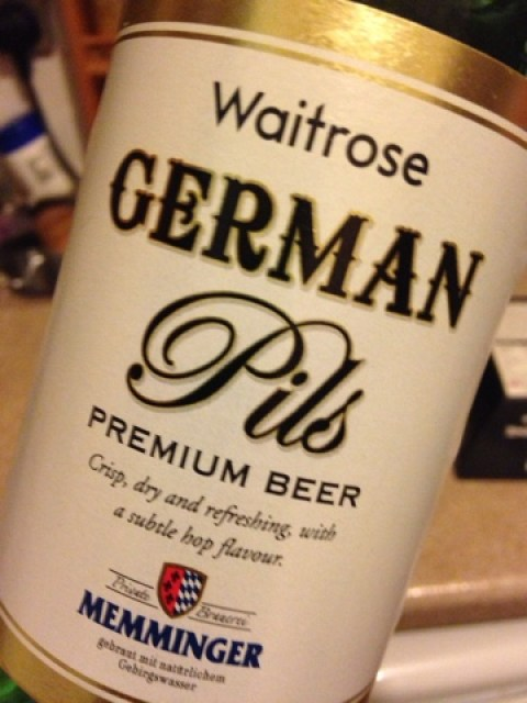 German Pils from Waitrose
