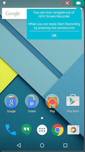 aplikasi android merekam layar video