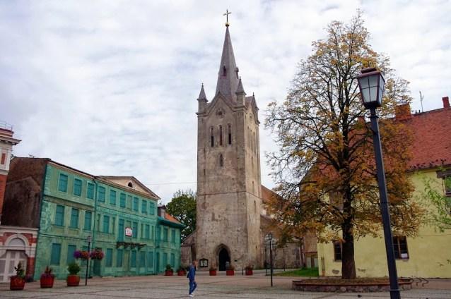 Iglesia de San Juan Cesis Letonia