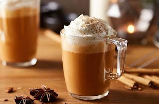 3.Pumpkin spice latte
