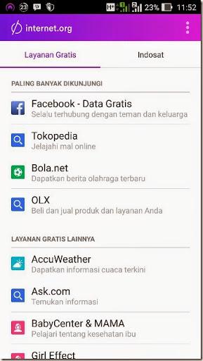 cara gratis akses internet facebook secara mudah dan cepat