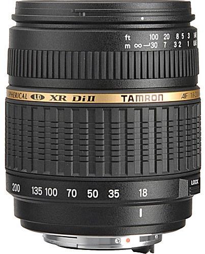 Tamron 18-200mm f/3.5-6.3 XR Di-II Macro Lens for Pentax