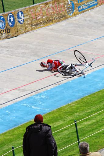 crash op de piste