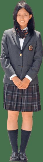 敦賀気比高等学校の女子の制服3