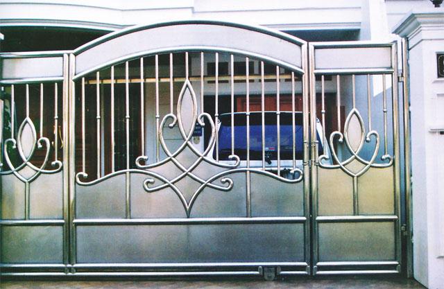 konstruksi baja ringan untuk rumah minimalis bengkel las karya abadi : contoh rupa-rupa pagar