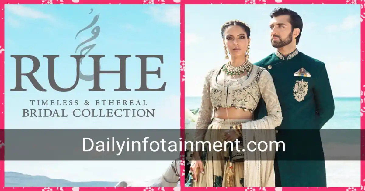 Shehla Chatoor Ruhe Bridal and Groom Collection