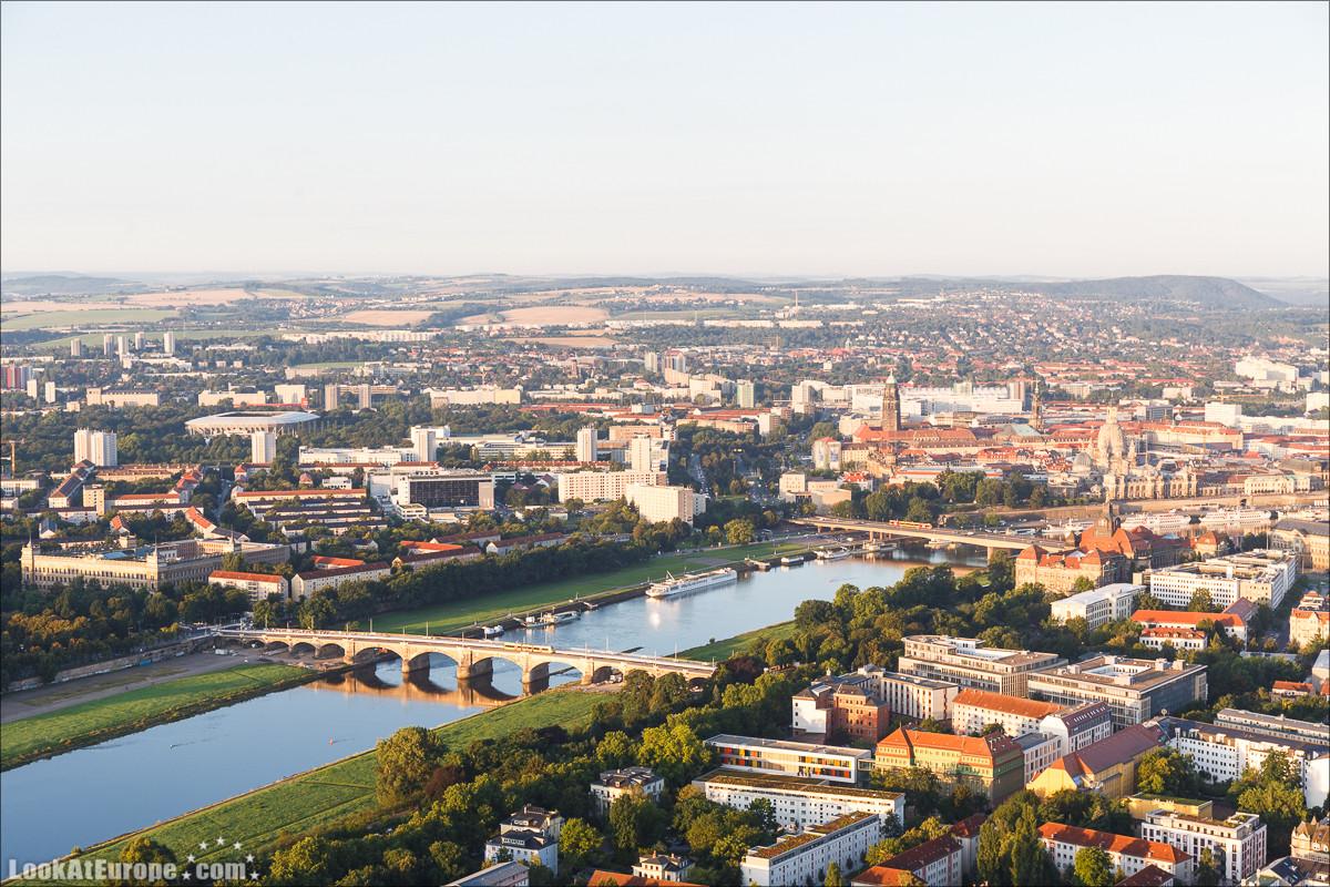 Полет на воздушном шаре над Дрезденом и Саксонской Швейцарией | LookAtIsrael.com - Фото путешествия по Израилю