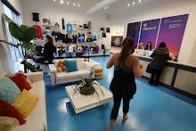 Waco Yoga Pod Reception & retail