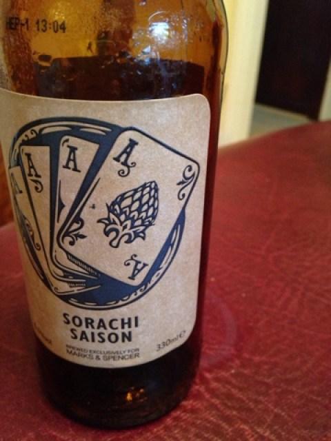Sorachi Saison by Adnams Brewery