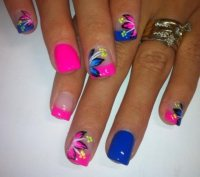 summer nail art design from instagram - Styles 7