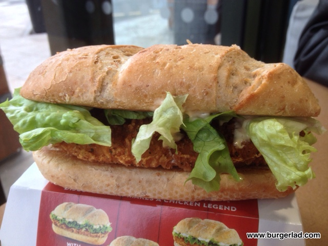 McDonald's Chicken Legend with Hot & Spicy Mayo