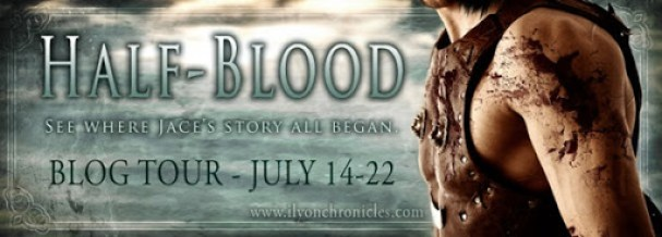 Half-Blood Blog Tour Banner