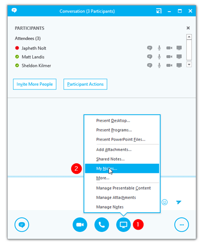 Skype for Business User QuickTip #41: How to Save Meeting