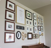 gallery wall in family room | 320 * Sycamore