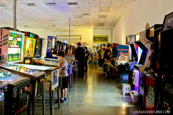 Things for Kids to Do in Las Vegas - Pinball Museum.