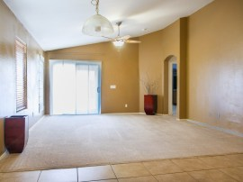 Maricopa AZ real estate for sale: view of family room