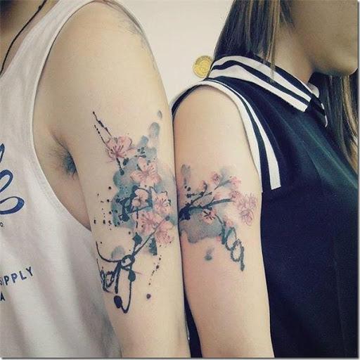 Tatuajes De La Flor De Cerezo Tatuajes247