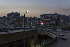 View from our hotel in Asyut