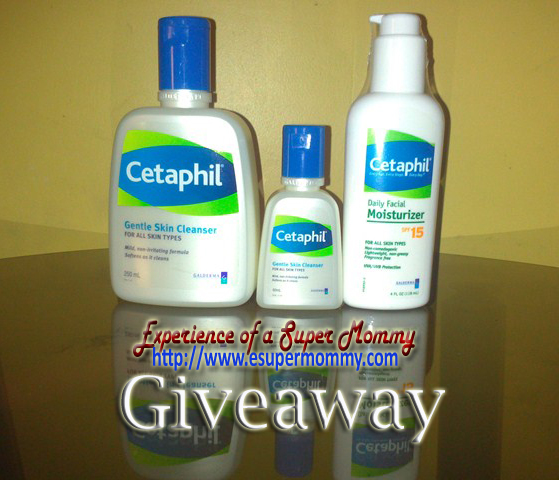 esupermommy cetaphil giveaway