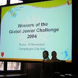 Global Junior Challenge, 2004 - rome2.jpg